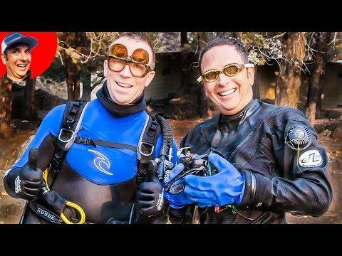 $845 In Sunglasses Found In Lake While Scuba Diving. (Treasure Hunting Adventure)