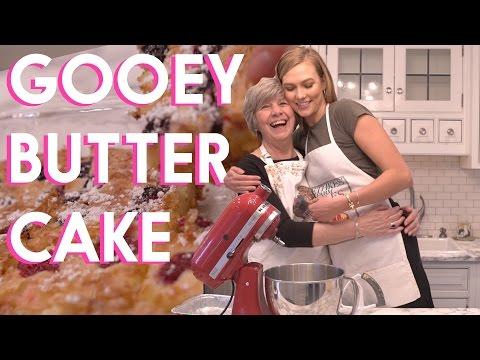 How to bake GOOEY BUTTER | Karlie Kloss