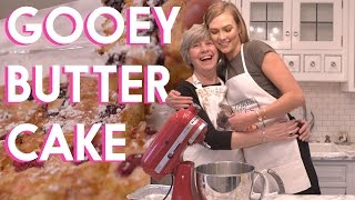 How to bake GOOEY BUTTER | Karlie Kloss