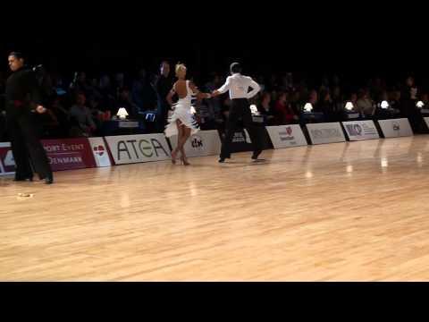 Copenhagen Open 2011 IDSF Grand Slam Adult Latin semifinal samba