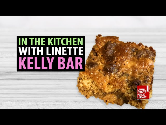 In The Kitchen with Linette: Kelly Bars