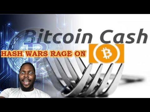 Bitcoin Cash (BCH) Hash wars rage on – Crypto market down