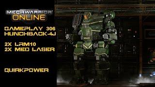 Mwo: Gameplay #306 Hunchback-4j Dat Quirk Medium Lrm Dingens
