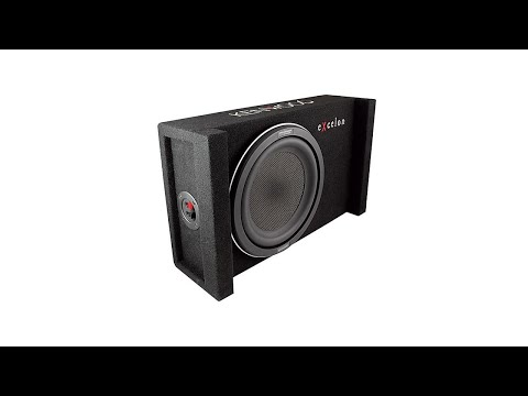 Kenwood eXcelon P-XW1001B 10 Inch Subwoofer in Sealed Enclosure