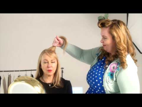 A Simple 50's Hairstyle Anyone Can Do, In Minutes! The Victory Roll!
