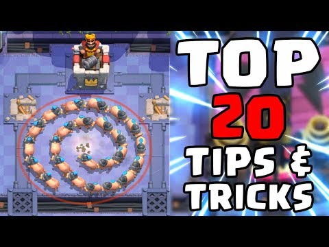 Top 20 Tips & Tricks in Clash Royale   Ultimate Clash Royale Pro Guide #2