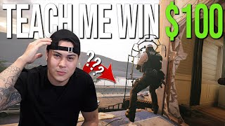 Teach Me A Cool Trick In Rainbow Six Siege & WIN $100!
