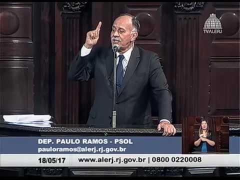 Sessão Ordinária - 18/05/2017 - Paulo Ramos