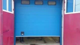 Лицевая часть ворот Doorhan на пожарной части. Акра Омск(, 2015-12-21T08:46:27.000Z)