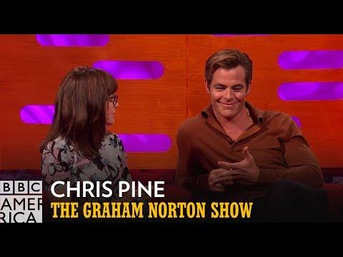 React to Chris Pine's Full Monty Moment  The Graham Norton   BBC America