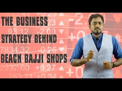 The business strategy behind beach bajji shops || Economics-1