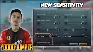 New Update !! New Sensitivity !! Yoodo Jumper | Pubg Mobile Malaysia