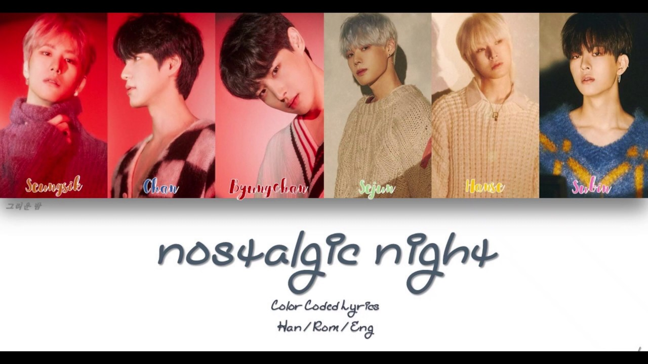 VICTON (빅톤) - 그리운 밤 (nostalgic night) Lyrics [Color Coded Han | Rom | Eng]