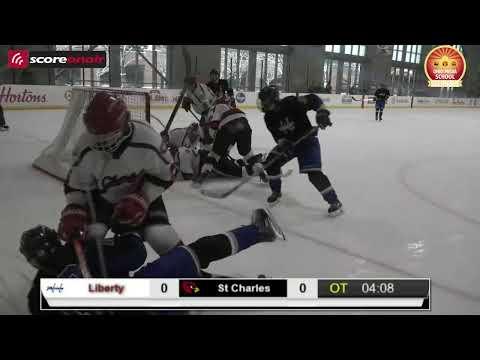 Ohio High School Hockey: #8 St Charles vs #7 Olentangy Liberty