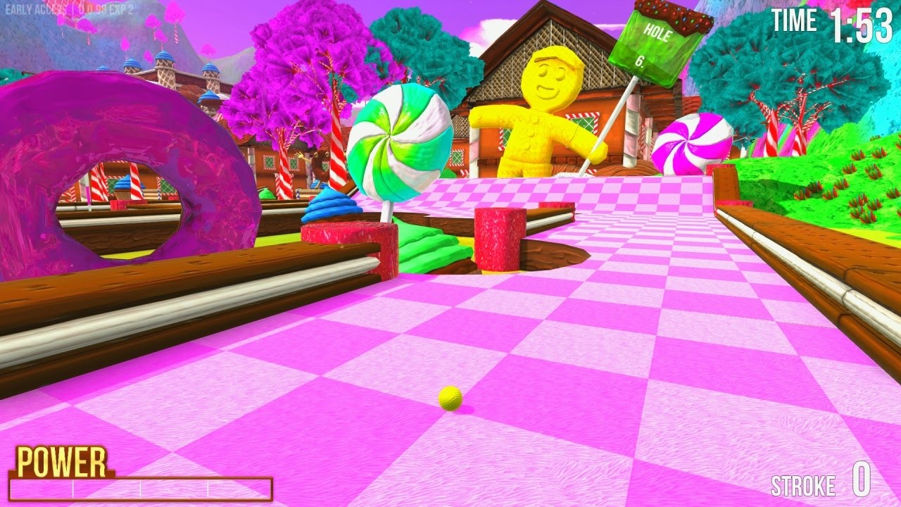 NEW CANDYLAND MAP! - GOLF WITH FRIENDS on