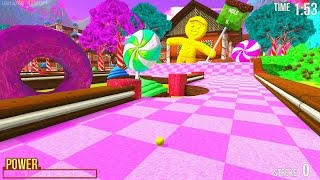 NEW CANDYLAND MAP! - GOLF WITH FRIENDS