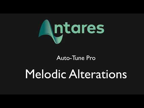 Tutorial - Auto-Tune