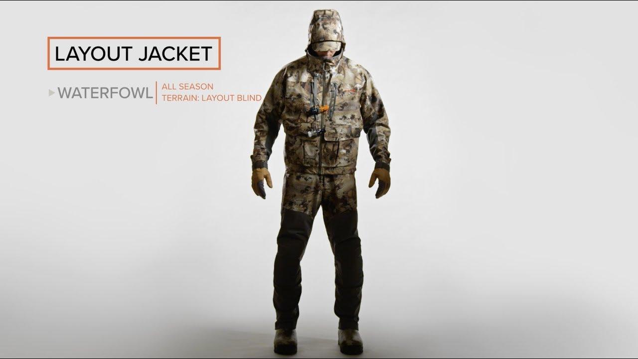 c58ec320fdb Layout Jacket - YouTube