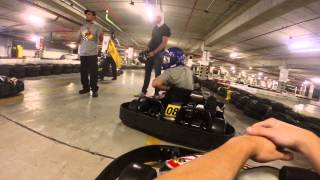 Adri no Kart do Golden Square - Piloto