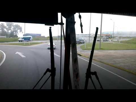 entrada por bus al aeropuero carrasco uruguay