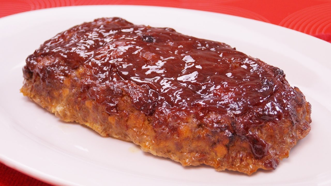 How To Make Homemade Meatloaf From Scratch Easy Meatloaf Recipe