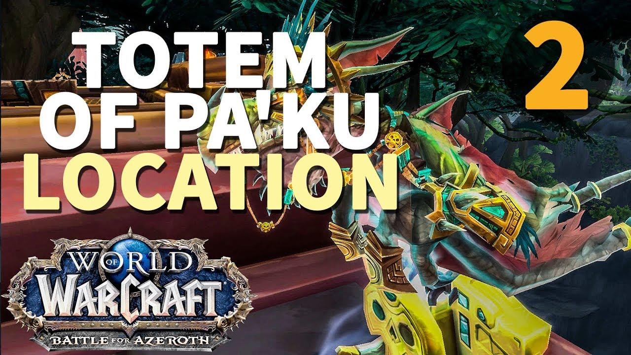 Totem of Pa'ku to House of Pa'ku WoW BfA