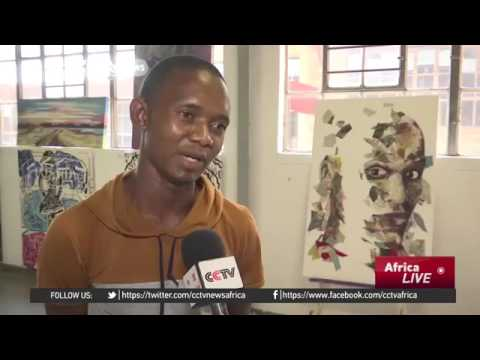 34957 rizne Kunst CCTV Afrique Johannesburg gallery exhibits work from emerging African artists