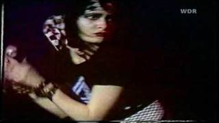 Siouxsie And The Banshees - Tenant (1981) Köln, Germany