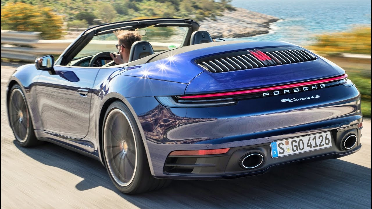 2020 Porsche 911 Carrera 4s Cabriolet Pure Driving Pleasure Youtube
