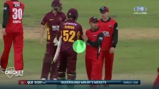 Highlights: Queensland Bulls vs Southern Redbacks