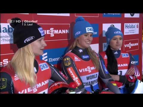 Natalie Geisenberger - Rodel-Weltcup in Oberhof 16.01.16