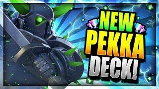 THE ULTIMATE NEW PEKKA DECK!! UNDEFEATED! Clash Royale Pekka Deck 2018