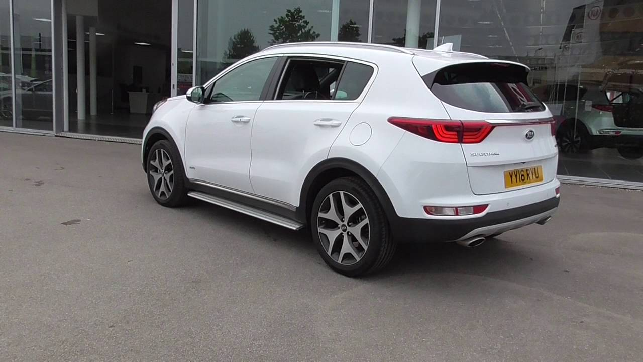 kia sportage 2 0 crdi gt line 5dr awd u20273 youtube. Black Bedroom Furniture Sets. Home Design Ideas