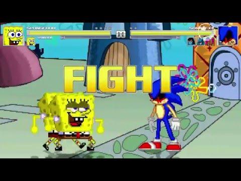 AN Mugen Request #331: Spongebob & Spongebob VS Sonic.exe, Mr Krabs, Batman & Sub-Zero