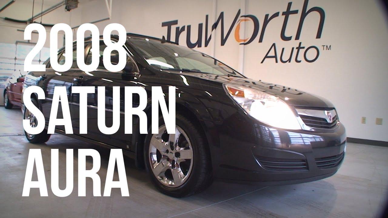 2008 Saturn Aura Heated Leather Seats Bluetooth Truworth Auto