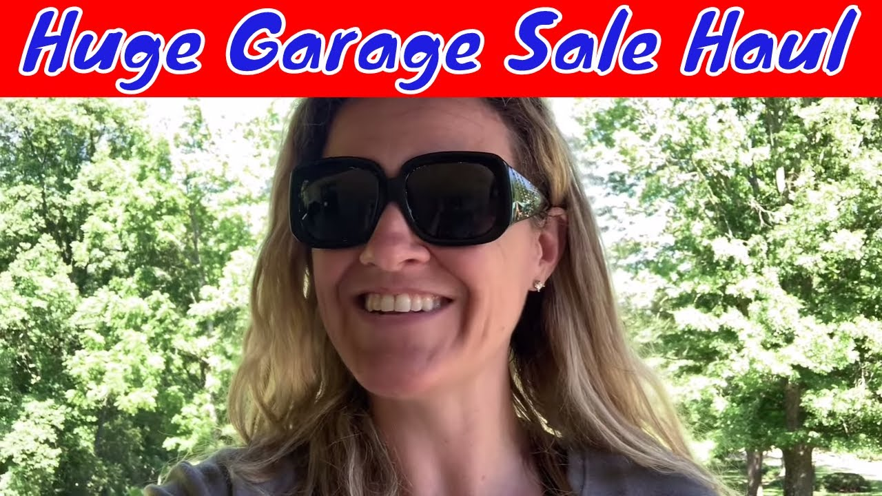 Amazing Day of Garage Sales Great Deals and BOLO Finds American Girl BABW & More