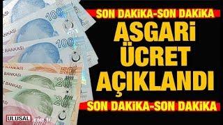 Son Dakika: Asgari ücret Ne Kadar Oldu? 2019'un Asgari ücreti Belli Oldu