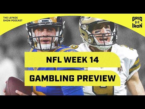 49ers/Saints, Chiefs/Pats & Previewing NFL Week 14 Gambling With Warren Sharp | The Lefkoe Show