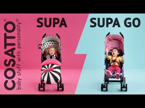 Сравнение Cosatto Supa и Go