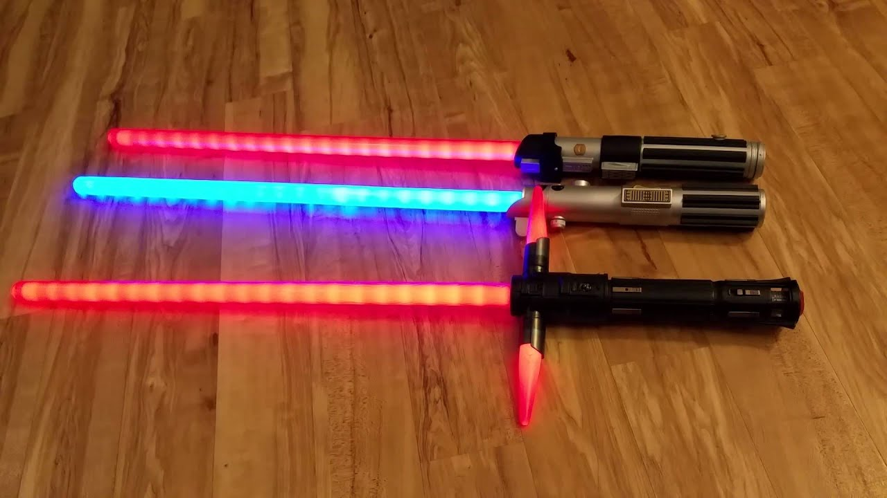 Star Wars The Force Awakens Disney Exclusive Lightsabers