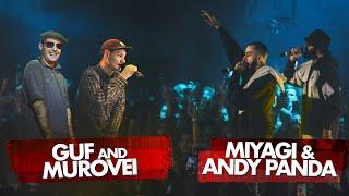 MIYAGI & ANDY PANDA vs GUF & MUROVEI