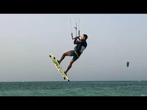 Kitesurfing in Qatar 2018