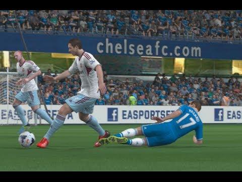 FIFA 14 (PS4): Chelsea vs West Ham (Full Match)