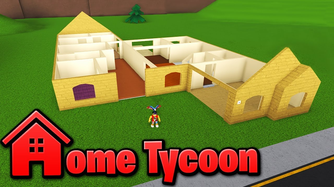 Building A House In Home Tycoon Roblox Youtube