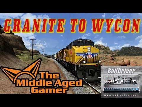 TS2013 - Granite to Wycon Gameplay - Raildriver *** The Middle Aged Gamer ***
