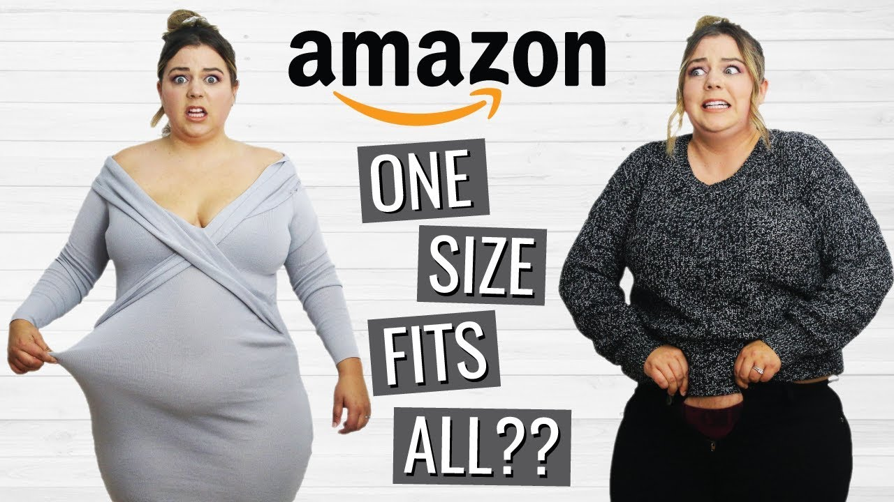 [VIDEO] - Trying One Size Fits All Clothes from Amazon Prime 1