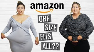 Trying One Size Fits All Clothes from Amazon Prime