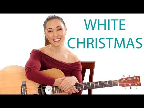 White Christmas - Easy Guitar Tutorial for Beginners with Play Along