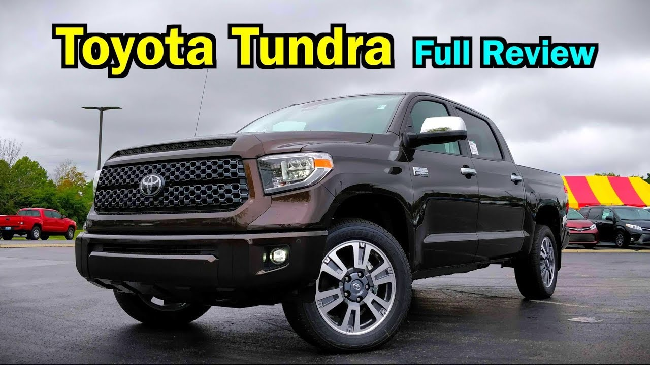 e21205f59c8 2019 Toyota Tundra  FULL REVIEW