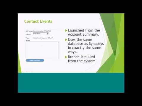 Account Overview Synapsys Integration in Episys